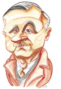 Ambroise Croizat, fondateur dela Sécurité sociale - Dessin de presse, Fakir