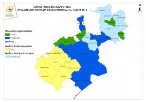 Exploitants AEP territoire CAM au 01-07-13