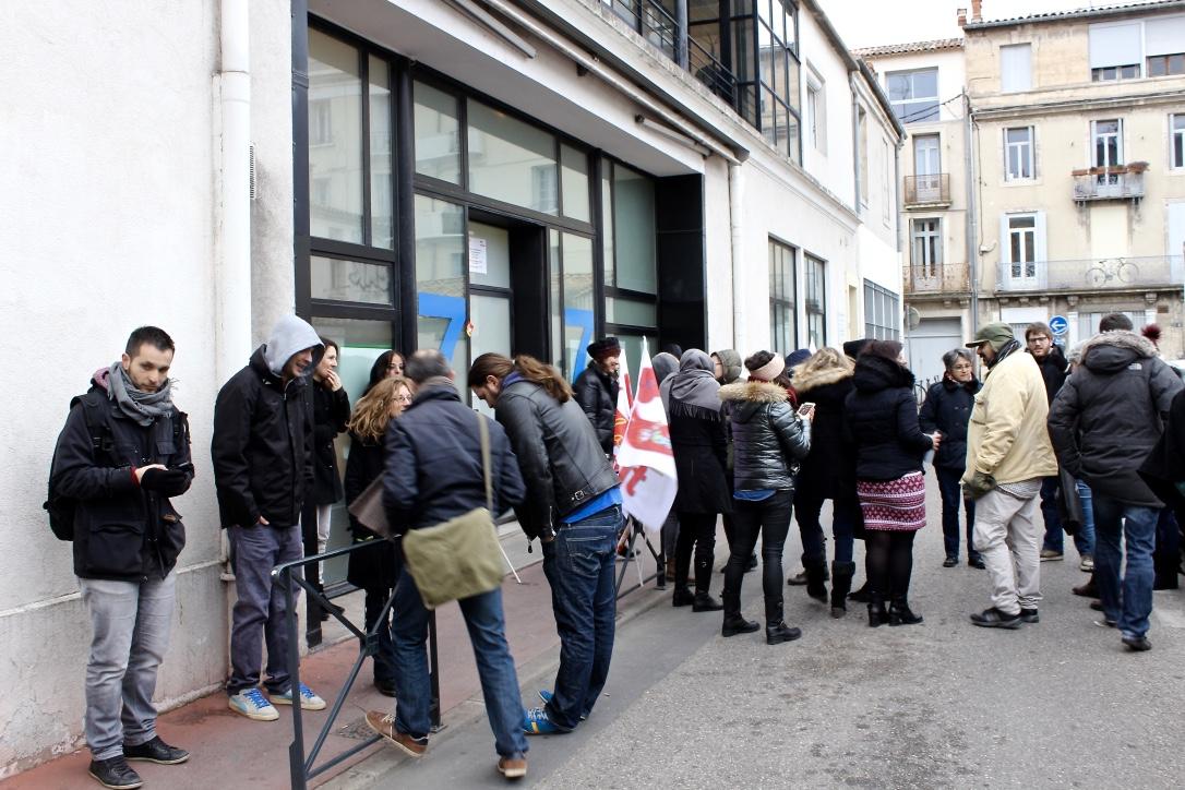Montpellier les pr caires du travail social le comptoir - Ofii office francais immigration integration ...